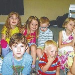 Children honored in service