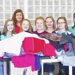Local schools donate nearly 150 coats