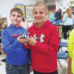 Students experiment at Meadowview Magnet Middle School