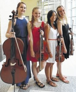 Summer string concert is Saturday