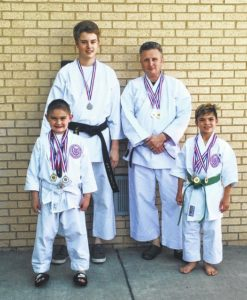 Karate school produces winners