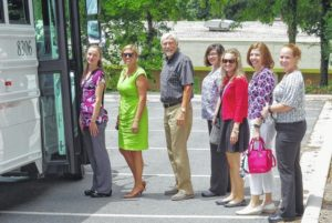 Teachers learn about today's workforce