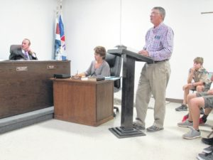 Sparks fly at commissioners meeting