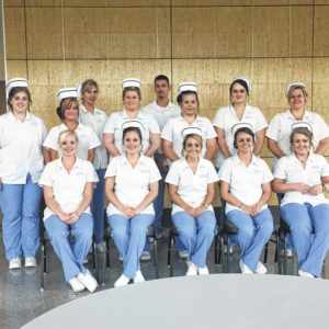 Nursing students mark fiest-year completion