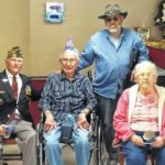 VFW, Auxiliary visit Central Care