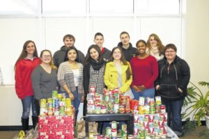 SCC Rotaract club collects food