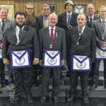 Pilot Masons install new officers