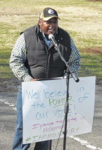 Citizens rally for unity, activism