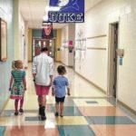 Kindergarten class visit Shoals