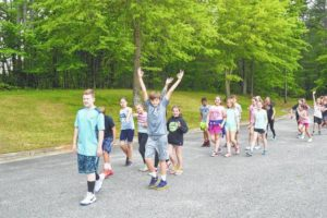 Shoals students part of exercise program